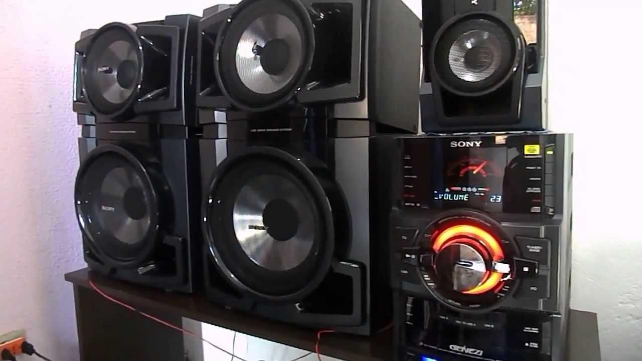 Mini System Sony Mhc-gtr88 Full Power   Dj Unk