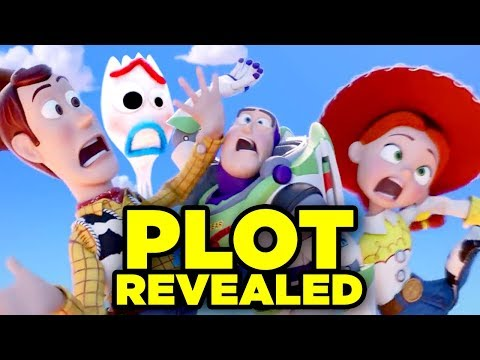TOY STORY 4 Teaser Trailer Breakdown! Details You Missed!