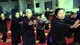 Khóa Tu Niệm Phật Chuyên Sâu, Hướng Dẫn Thể Dục Buổi Sáng - Chùa Khai Nguyên