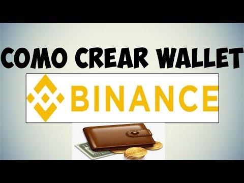 Tutorial ✔ Asi Se Crea Una Billetera En Binance Actualizada  2019 A.G Dinero4all