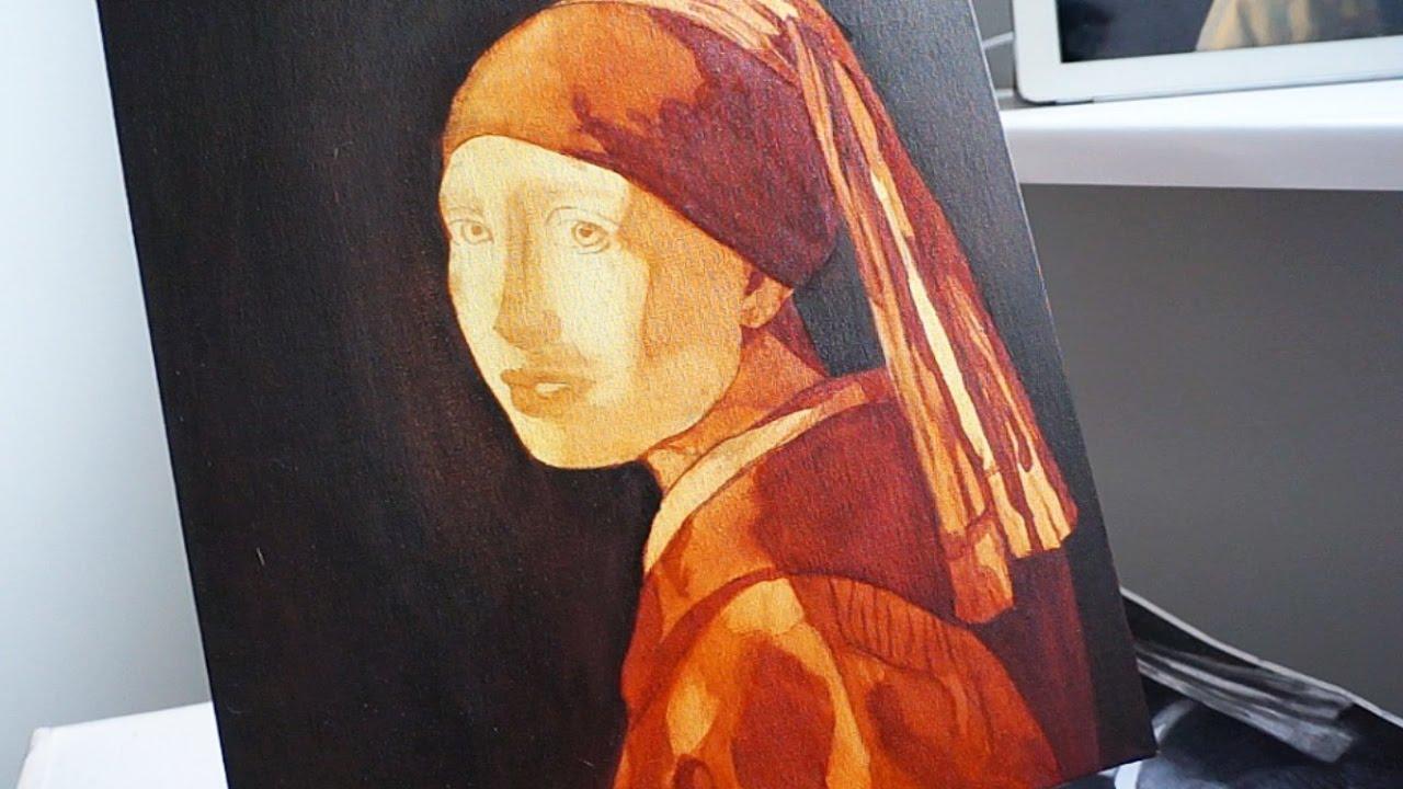 Уроки живописи маслом. Девушка с жемчужной серёжкой.Часть ...