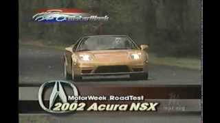 2002 Acura NSX MW Road Test/Review