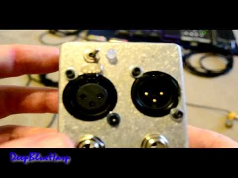 Mute Switch for guitars, instruments, and mics (XLR and Hi-Z)