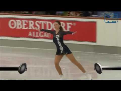 Anne Vogt. Oberstdorf 2018. Bronze Ladies I FS. 5 place