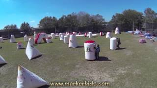 BlitzKrieg Paintball - Tampa Florida Promo Video w/ PSP Dallas Layout