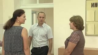 Объезд мэром г.  Новошахтинска  школ, детсадов и детский клуб Созвездие