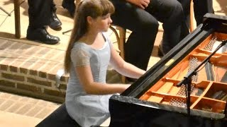 Beethoven, Piano Concerto No. 2 Op. 19 Laetitia Hahn (age 11) 1. Movement