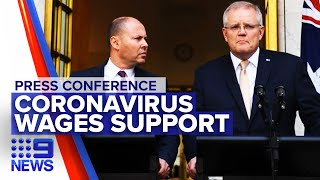 Coronavirus: Government announces $130 billion wage support package | Nine News Australia