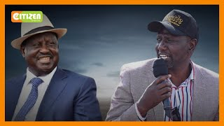 DP Ruto says he cannot rule out reuniting with Raila ahead of 2022