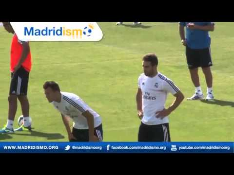 Real Madrid First Training with Carlo Ancelotti (Complete) HD  /  Real Madrid Entrenamiento Completo
