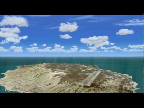 Blue Sky Scenery - Channel Islands National Park, San Nicolas NOLF (KNSI) [HD 1080p]