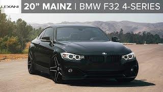 """BMW F32 4-Series on 20"""" Mainz by Lexani"""