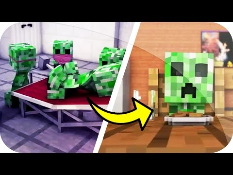 LA VIDA DE UN CREEPER MINECRAFT ANIMACIÓN - THE LIFE OF A CREEPER