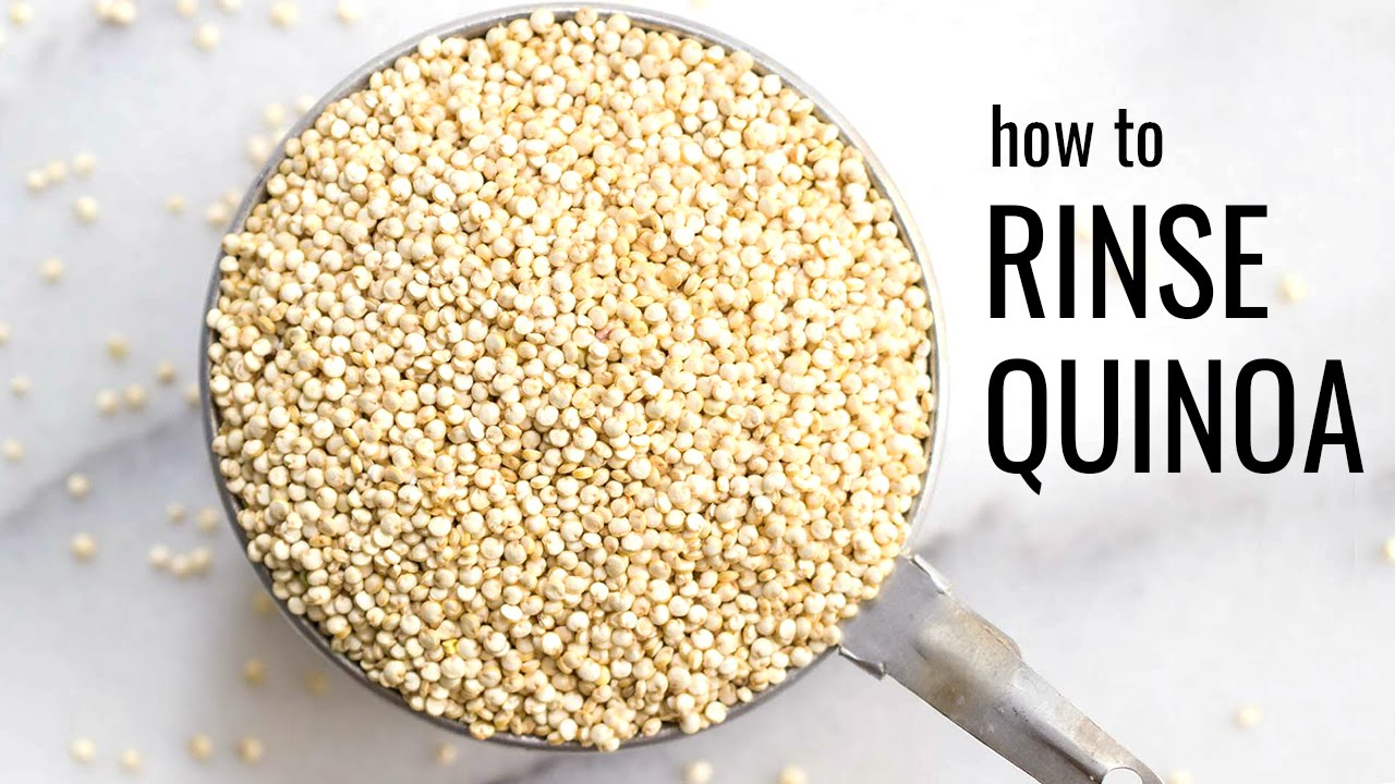 How To Rinse Quinoa (stepbystep Tutorial)