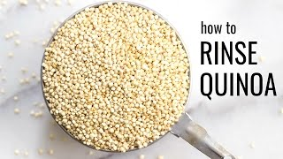 How to Rinse Quinoa (Step-by-Step Tutorial)