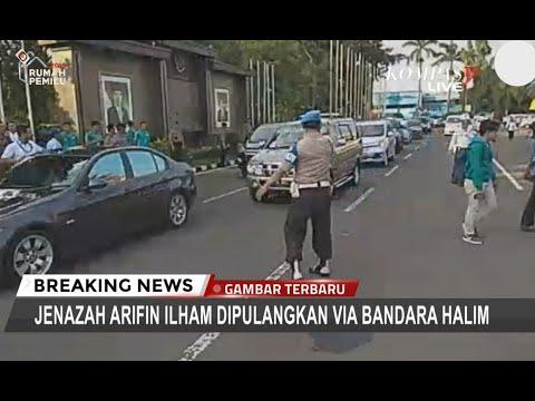 Tiba di Halim, Jenazah Ustaz Arifin Ilham Langsung Dibawa Menuju Pesantren Az-Zikra
