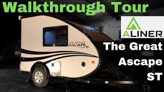 2019 Great Ascape ST Travel Trailer by Aliner Walkthrough Tour