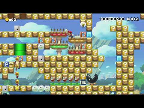 20sec Speed Run#28 by GoofyMomma - Super Mario Maker - No Commentary