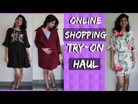 Huge Online Shopping Try on Haul | Romwe, Shein,Flipkart Haul + Review
