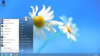 como poner Menu inicio en windows 8