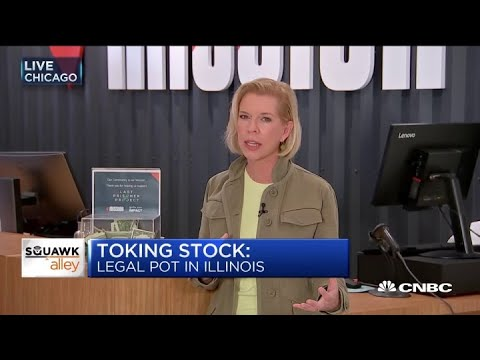 Illinois records $39 million in legal, adult-use marijuana s