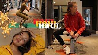 что я ношу в спортзал HAUL | Polina Sladkova