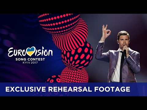 Robin Bengtsson - I Can't Go On (Sweden) EXCLUSIVE Rehearsal footage