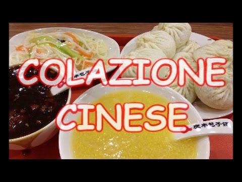 cosa mangiano i cinesi a colazione youtube