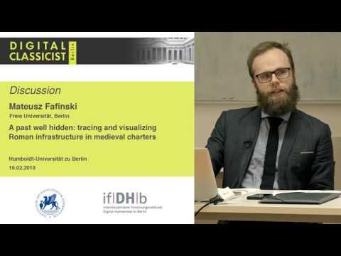 Digital Classicist Seminar Berlin (2017/2018) - Seminar 9 Discussion