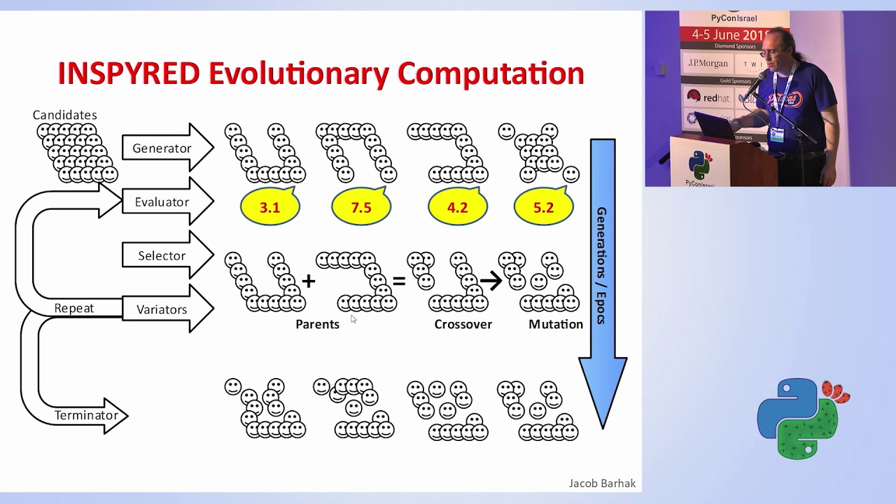 Image from Evolutionary Computation Examples with Inspyred