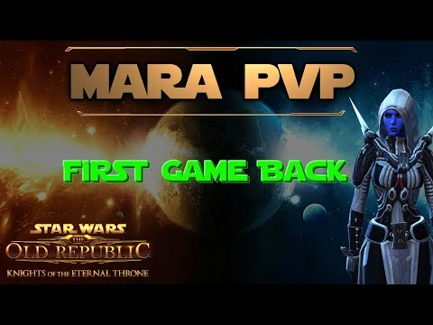 SWTOR- Sith Marauder PVP Level 70 (Carnage) (I'm Back BTW)