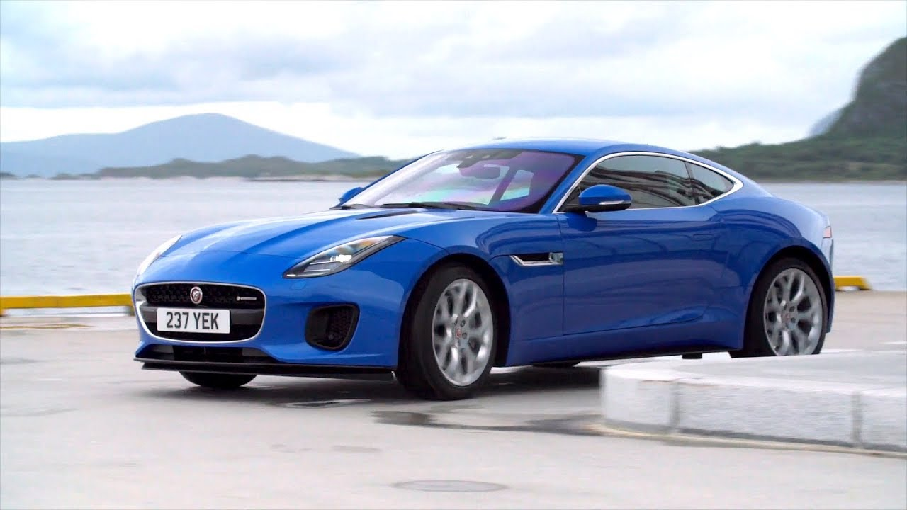 2018 Jaguar F Type 4 Cylinder Driving Interior Exterior Footage