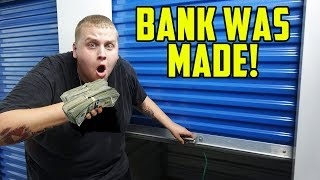 I Bought The BEST Storage Unit On YouTube! I Bought An Abandoned Storage Unit
