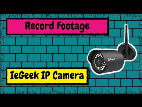 How to Record Footage from Your IeGeek IP Camera to Your Computer&39;s Hard Drive with HiP2P Client