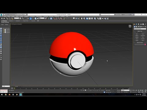 3ds Max Modeling Tutorial: Basics
