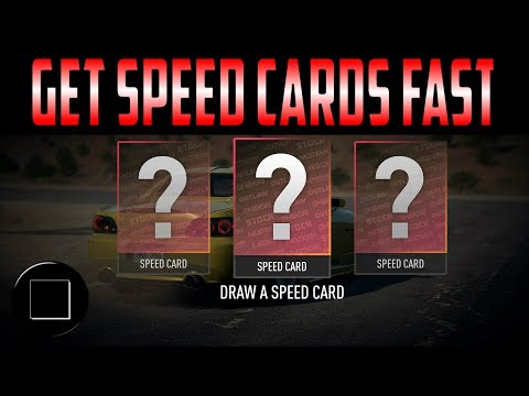 Need For Speed - Fastest Way To Get Speed Cards