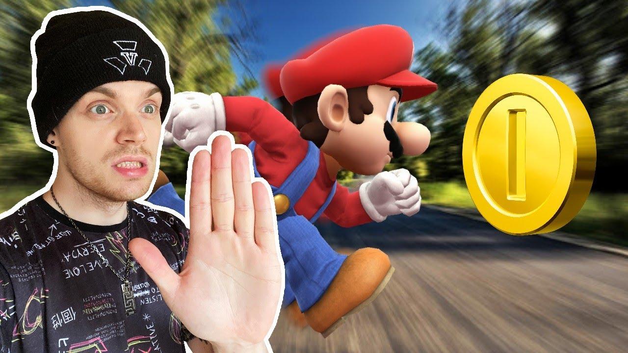 1 MÜNZE = Mario wird 5% SCHNELLER! (Challenge)   Mario 64