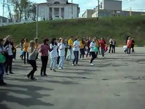 Flashmob акция за здоровый образ жизни
