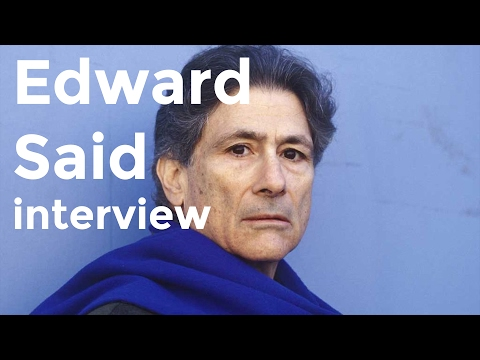 Edward Said interview on Charlie Rose (1998)