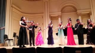 Camerata Youth Ensemble - Vivaldi Sinfonia in D major