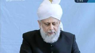 Urdu Friday Sermon 7th October 2011 at Hamburg, Germany, Islam Ahmadiyya