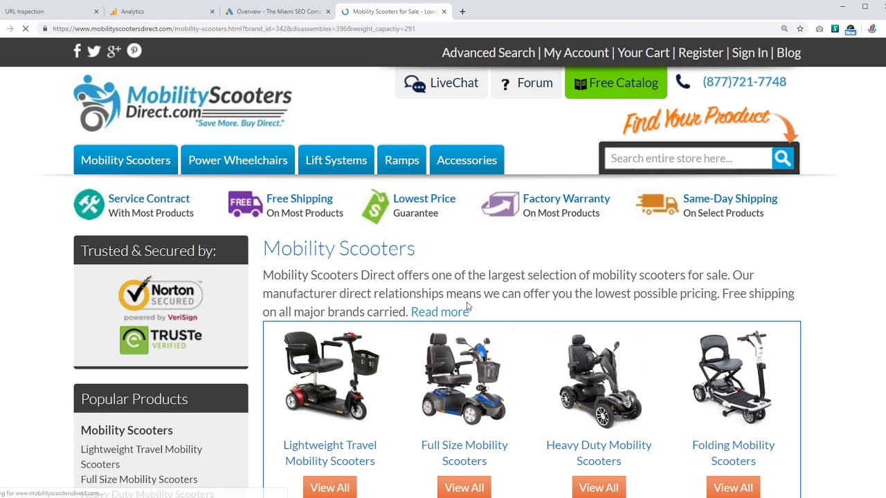 Mobility Scooters for Sale - Lowest Prices Online, Tax-Free