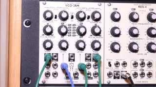 Cwejman VCO-2RM Demo