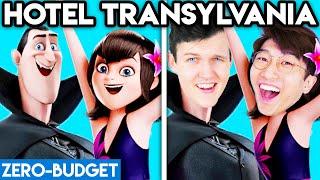 HOTEL TRANSYLVANIA WITH ZERO BUDGET! (Hotel Transylvania 3 MOVIE PARODY By LANKYBOX!)