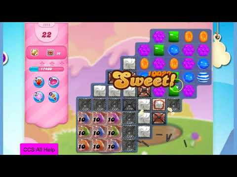 Candy Crush Saga Level 2858 NO BOOSTERS Cookie