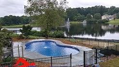InGround Vinyl Swimming Pool installation Canton, Kennesaw, Woodstock, Marietta, Atlanta, GA.