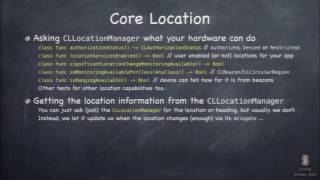 Video Stanford   Developing iOS 8 Apps with Swift   14  Core Location and MapKit download MP3, 3GP, MP4, WEBM, AVI, FLV September 2018
