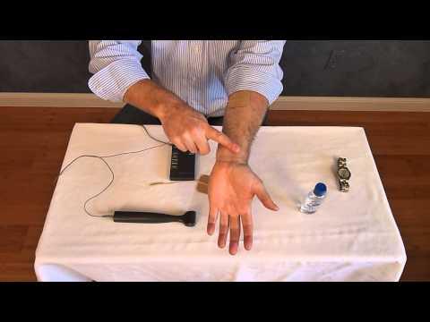 Using the Rhythm Touch Roller   Begin