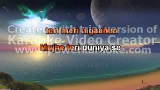 karaoke song Meri yaad mein tum