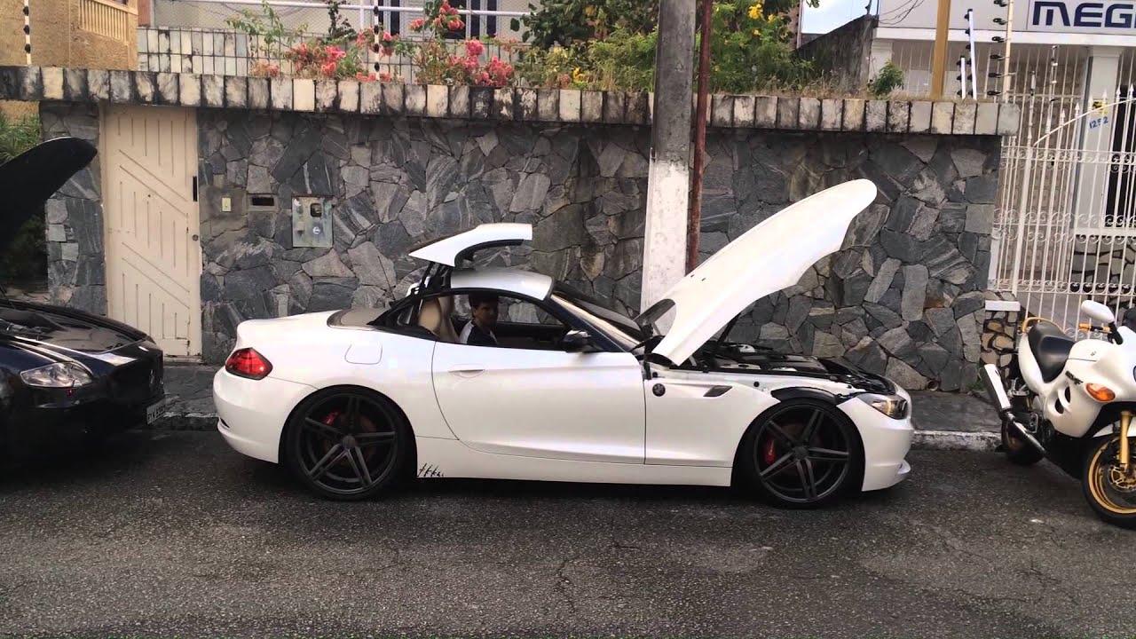 Bmw Z4 Custom >> Z4 BMW Rebaixada Rodas Vossen aro20 Custom murdered Maserati quatroportte GT Murderedout - YouTube
